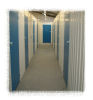 Secure self storage rooms